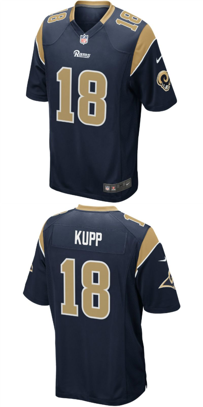 half off 08f62 9e817 UP TO 70% OFF. Cooper Kupp Los Angeles Rams Nike Game Jersey ...