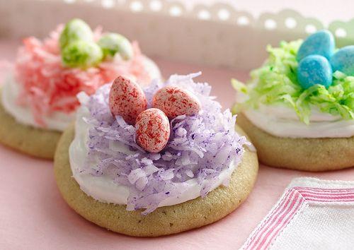 Easter Nest Cookies  Easy!