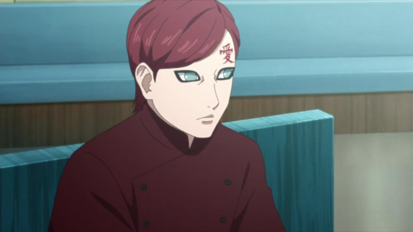 Gaara Boruto Naruto Next Generations Gaara Anime