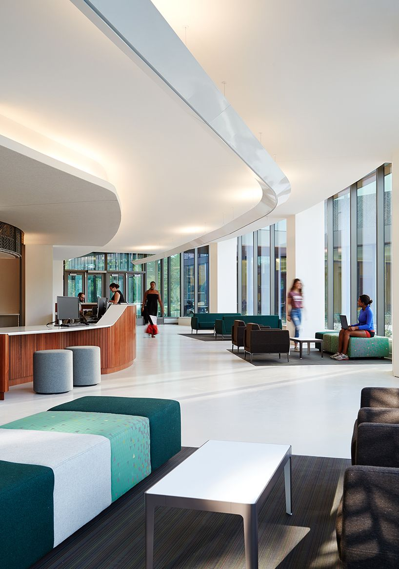 Studio gang adds to university of chicago campus o f f i - Commercial interior design chicago ...