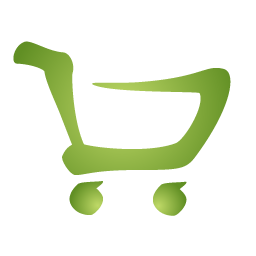 Green Shopping Cart Logo Icon App Icone Loghi