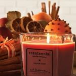 Scentennial Candles 5 oz. Square Jar Heaven Scent