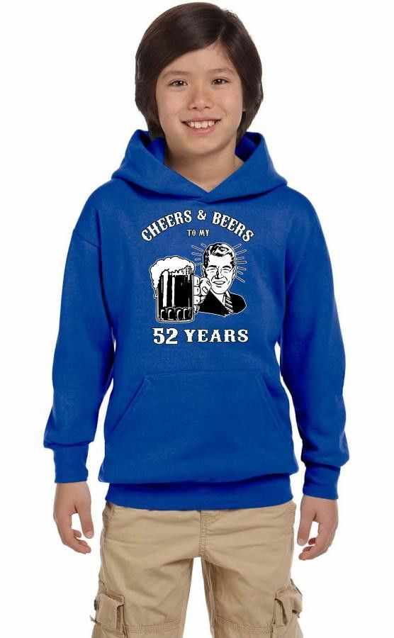 cheers and beers 52 Youth Hoodie