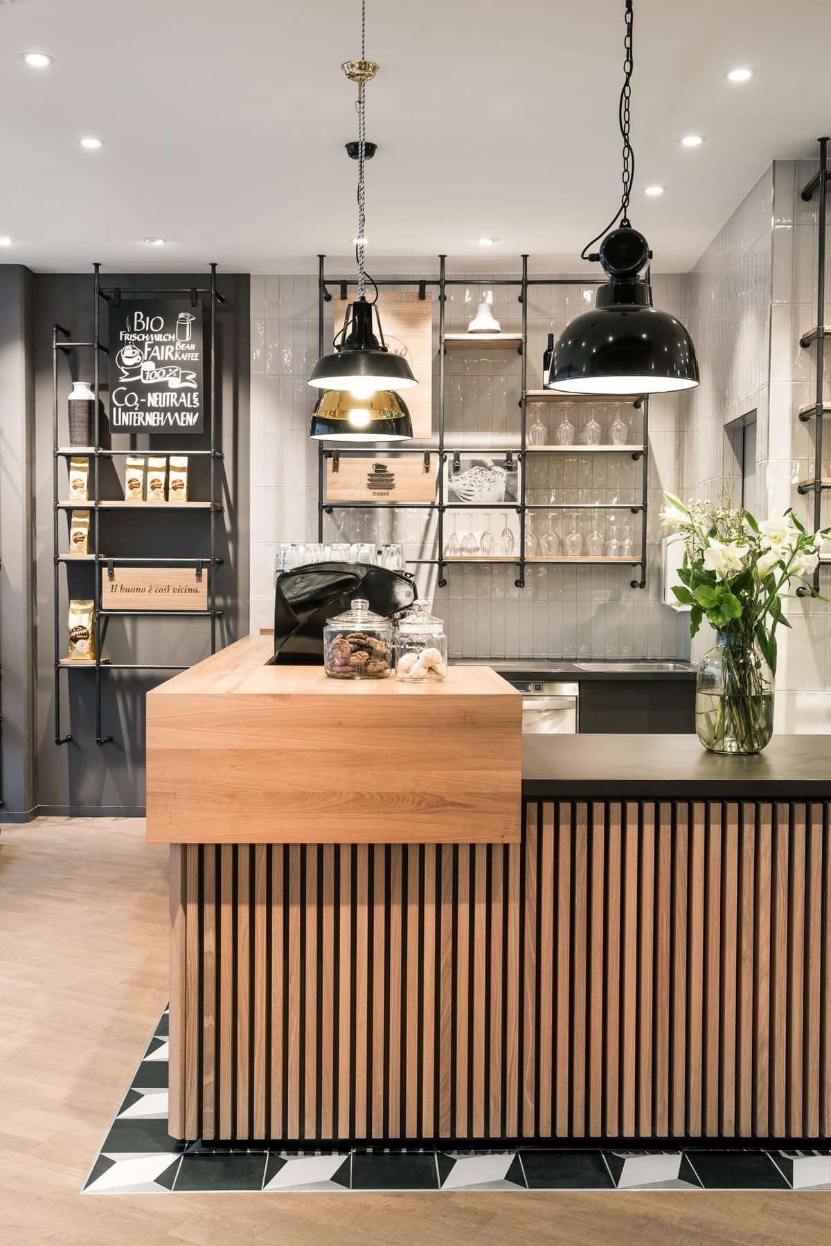 ounter, architecture, Primo Cafe Bar Tübingen by DIA – Dittel ...