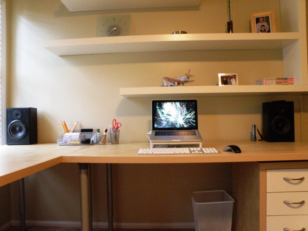 Tall Corner Desk With Shelves Ikea Floating Shelves Floating