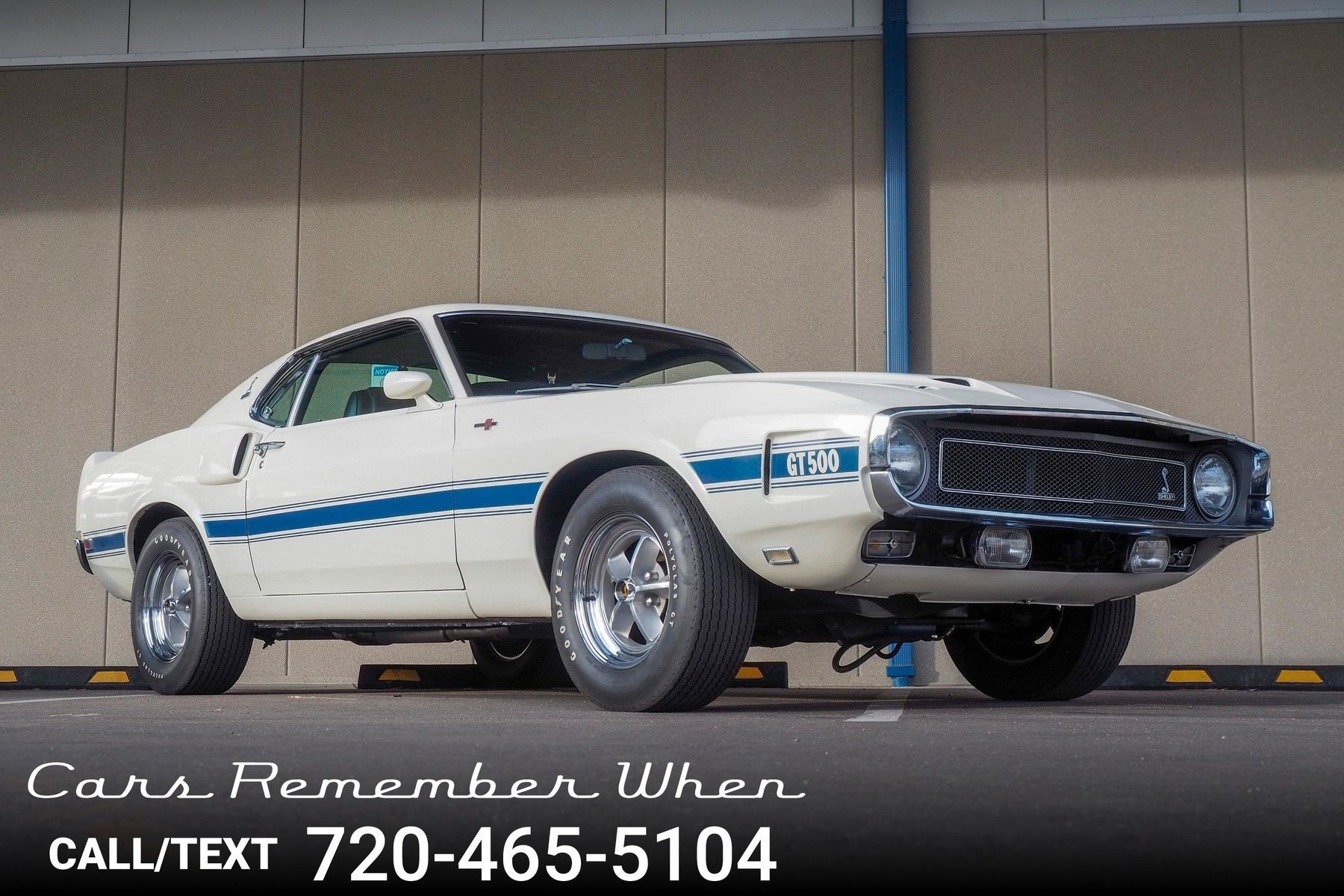 1969 Ford Mustang Shelby GT500 Unrestored For Sale