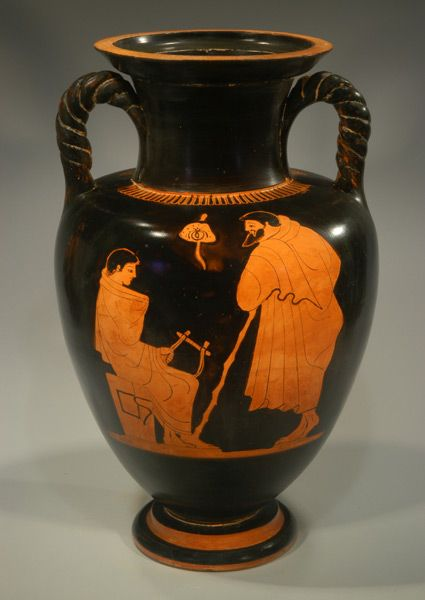 Obverse Important Attic Red Figure Amphora By The Harrow Painter