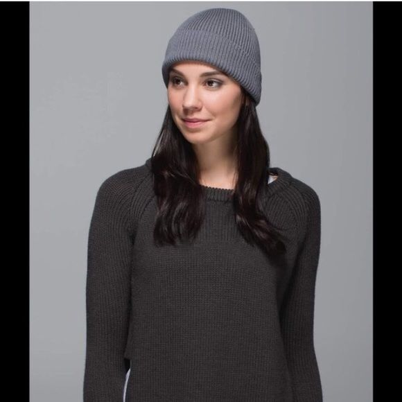 e4b7f25e2f784 Lululemon rad hatter toque Super cute hate can be worn slouchy. Gray color. lululemon  athletica Accessories Hats