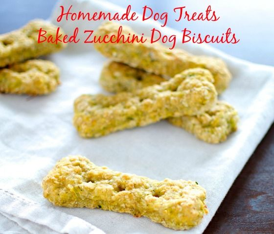 Homemade Dog Treats Baked Zucchini Dog Biscuits Recipe Dog