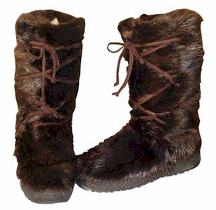 Regina Men's Beaver Fur Boot | Fur boots, Fur and Boots