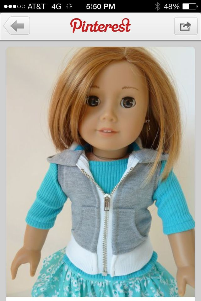 American girl doll outfit! | American Girl | Pinterest