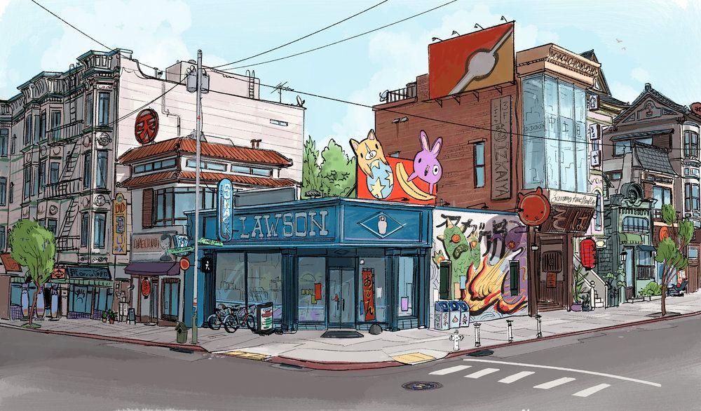 Big Hero 6 — Scott Watanabe in 2020 Concept art