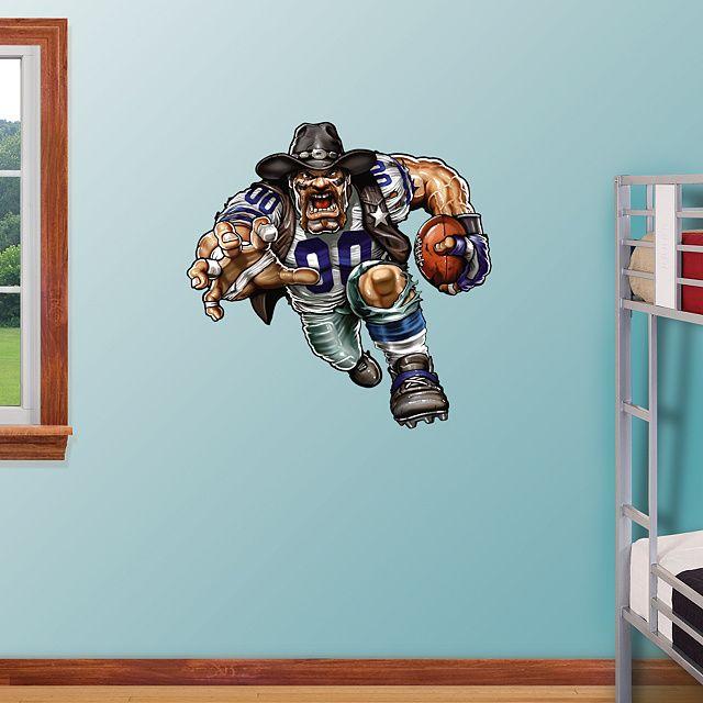 Fathead Wall Graphic Dallas Cowboys Decal Sports Home Décor Football Bedroom Man Cave Nursery