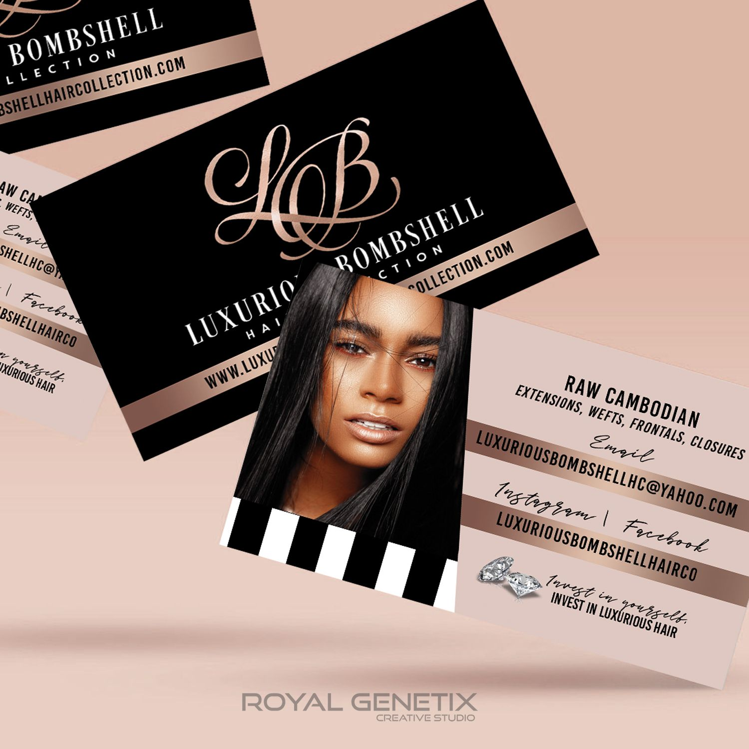 Hair Business Cards Business Hairstyles Hair Business Cards Beauty Business Cards