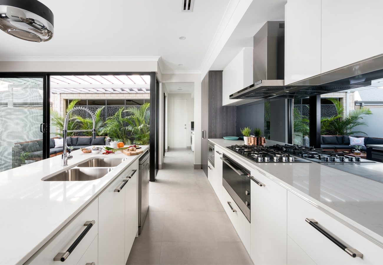 Interior design for homebuilders - Home Builders Australia Kitchen Display Home New Home Interior Design Home