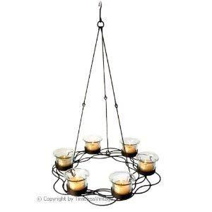 17 Best images about Candle chandelier - hanging votive tea light holder on  Pinterest | Votive candle holders, Bookmarks