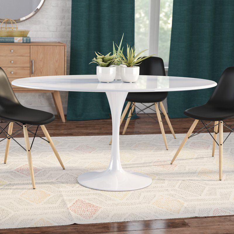 Julien Oval Dining Table Round Dining Table Oval Kitchen Table