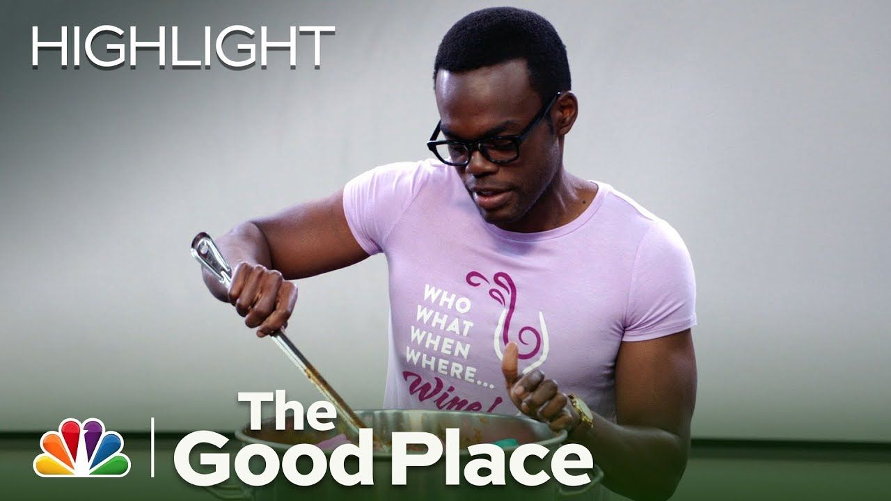 Chidi Goes Insane and Eats Peeps Chili - The Good Place