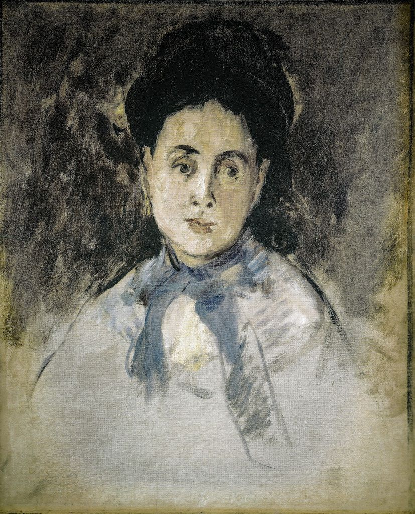 Edouard Manet - Head of a Womam, 1870