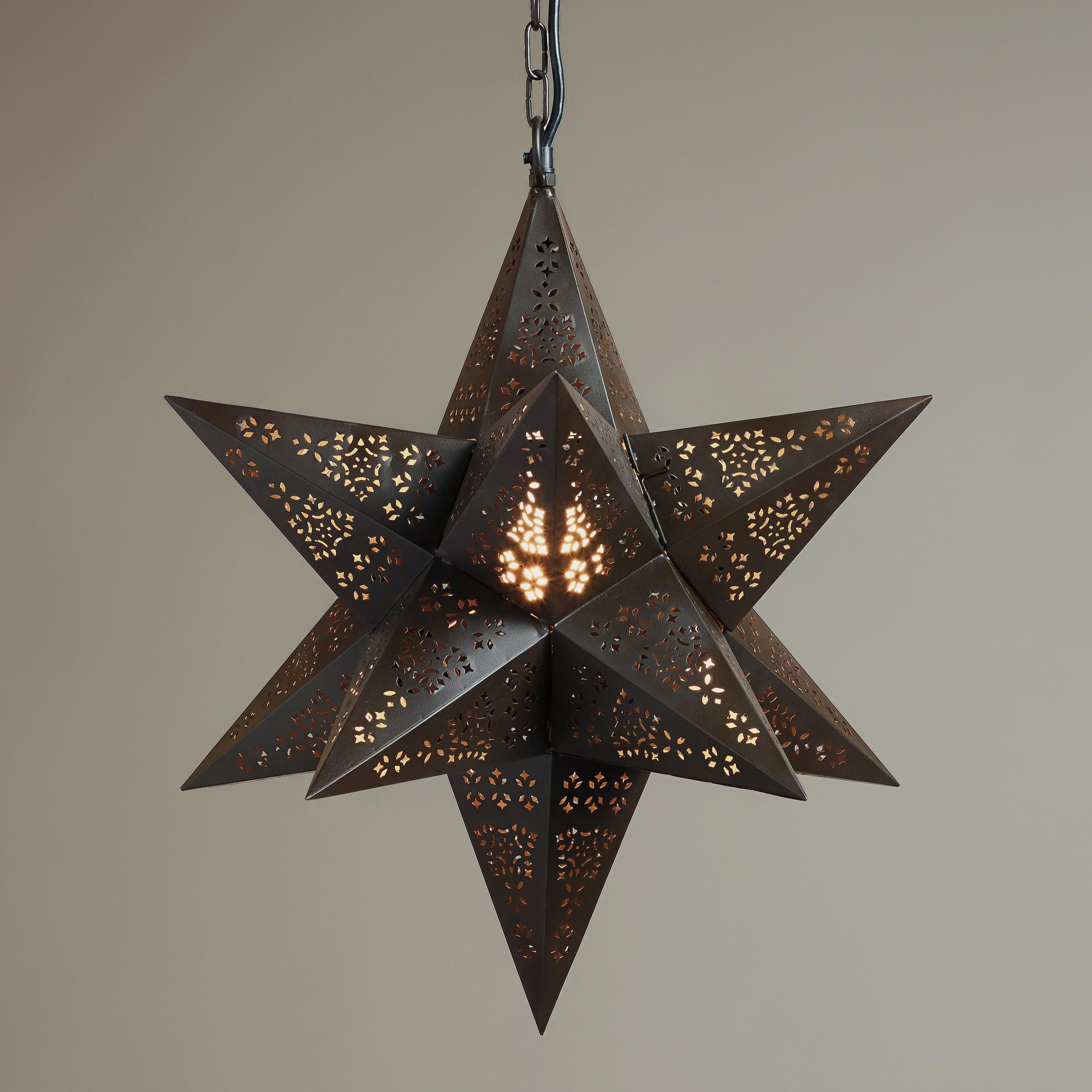 Moravian star hanging pendant lamp world market made in india moravian star hanging pendant lamp world market made in india aloadofball Choice Image