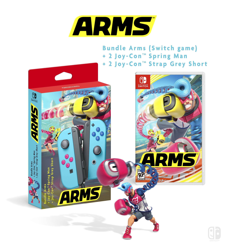 Bundle Arms Nintendo JoyCon Collector Nintendo Switch (A