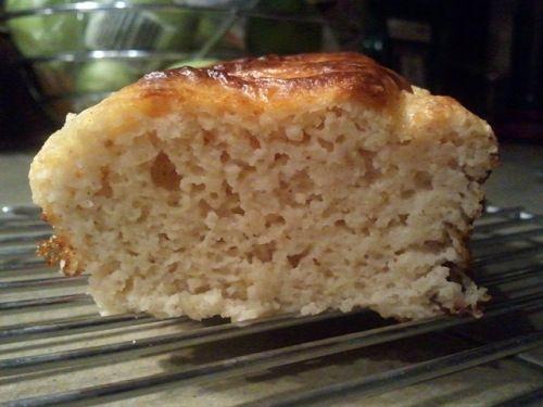 lemon loaf slice paleo so good!