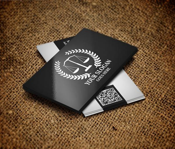 Awesome Lawyer Business Card For Your Inspiration Smashfreakz - Lawyer business card templates