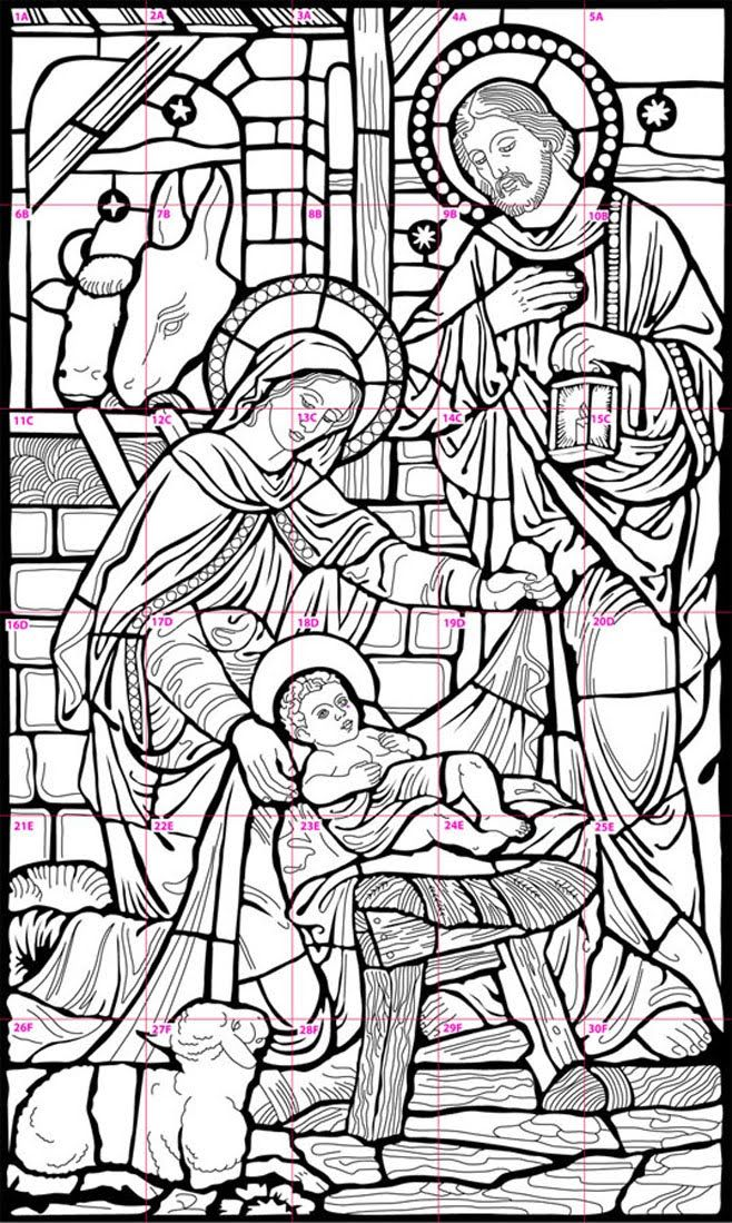 Pin By Sandra Bauman On Nativity Nativity Coloring Pages