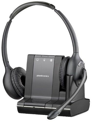 Plantronics Pl 84004 01 Savi W720m Multidevice Headset Landline Telephone Accessory Electronics Products Computers Tab Plantronics Headset Wireless Headset