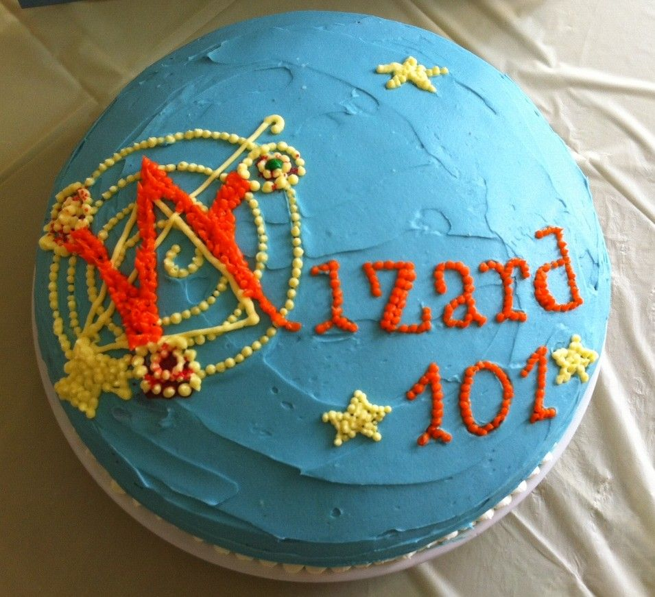 Wizard 101 Cake | Mom in Music City