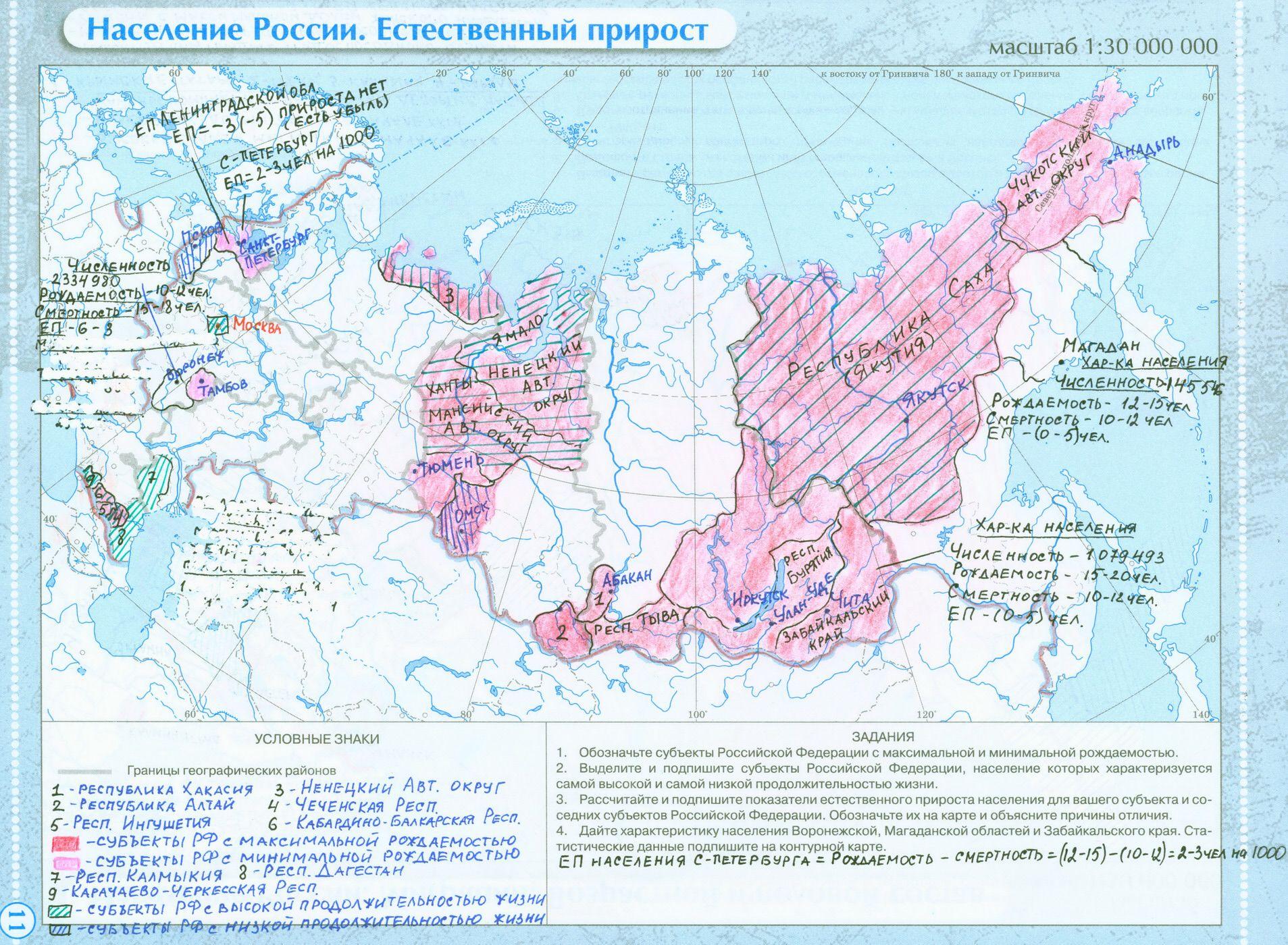 Контурная карта беларуси 10 класс население