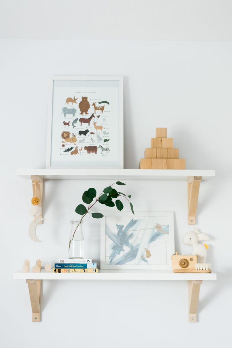 Dreamy Scandinavian Nursery With