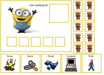 Autism Minions Token Boards