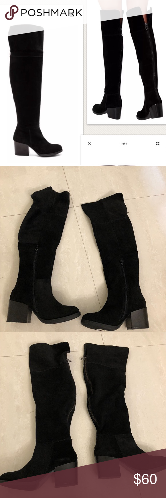 0c3bbe759ec Brand new! Steve Madden boots Size 6 Orabella over the knee boots. Never  worn