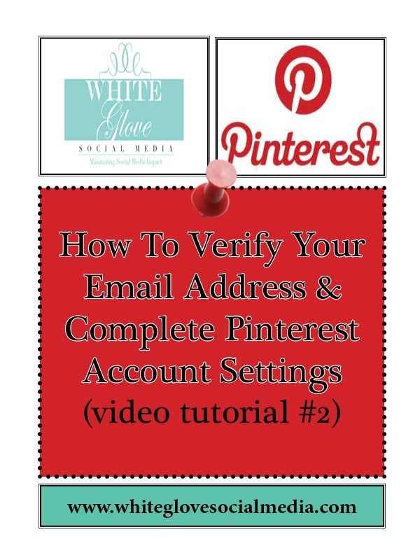 2 How To Verify Your Email Address and Complete Pinterest