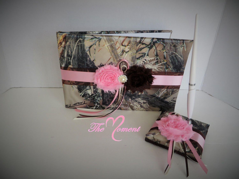 Diy camo wedding decorations  Camo and pink Wedding Set Pink and Camo wedding  Cheap Wedding