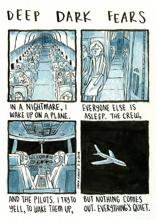 People's Deepest And Darkest Fears Turned Into Comics (New Pics