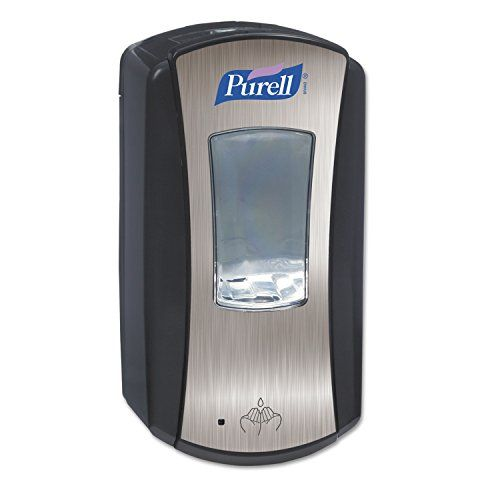 Purell 192801 Ltx12 Brushed Dispenser 1200ml Capacity Chromeblack
