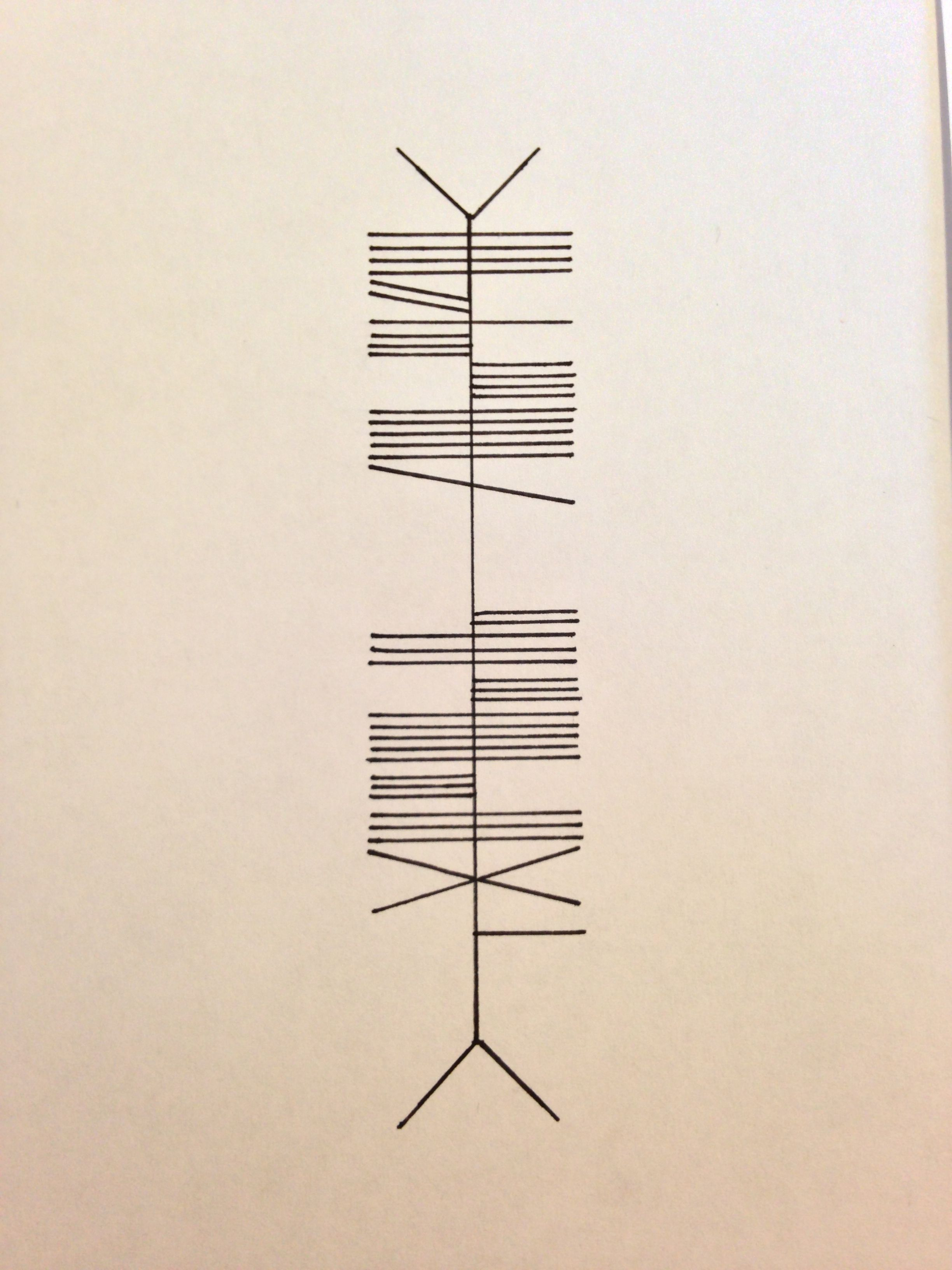 Beautiful Mistake in Ogham writing. My next tattoo going down my ...