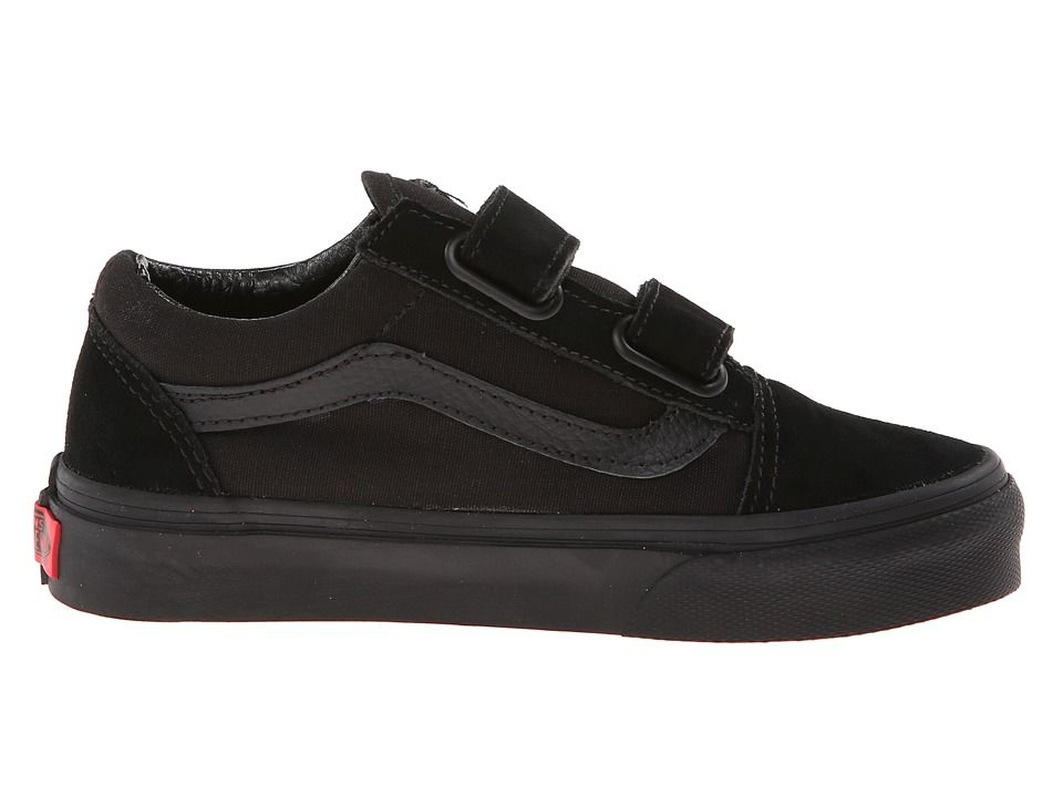 all black vans kids