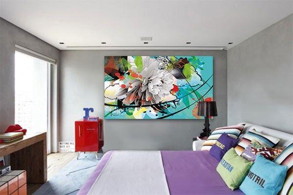 tableau fleur d 39 t par izoa canvas spring flower by izoa design graphisme art pinterest. Black Bedroom Furniture Sets. Home Design Ideas