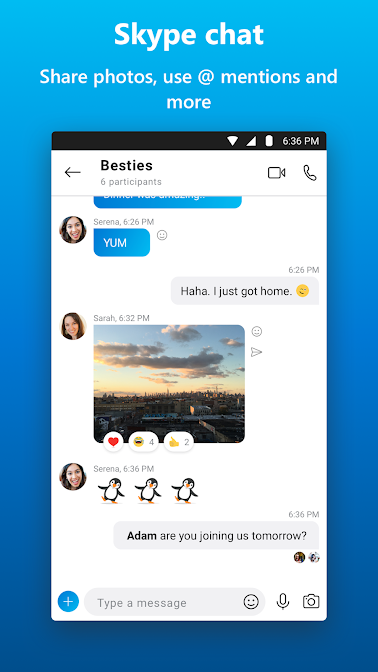 Skype free IM & video calls Apps on Google Play