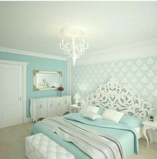 Light Teal Bedroom