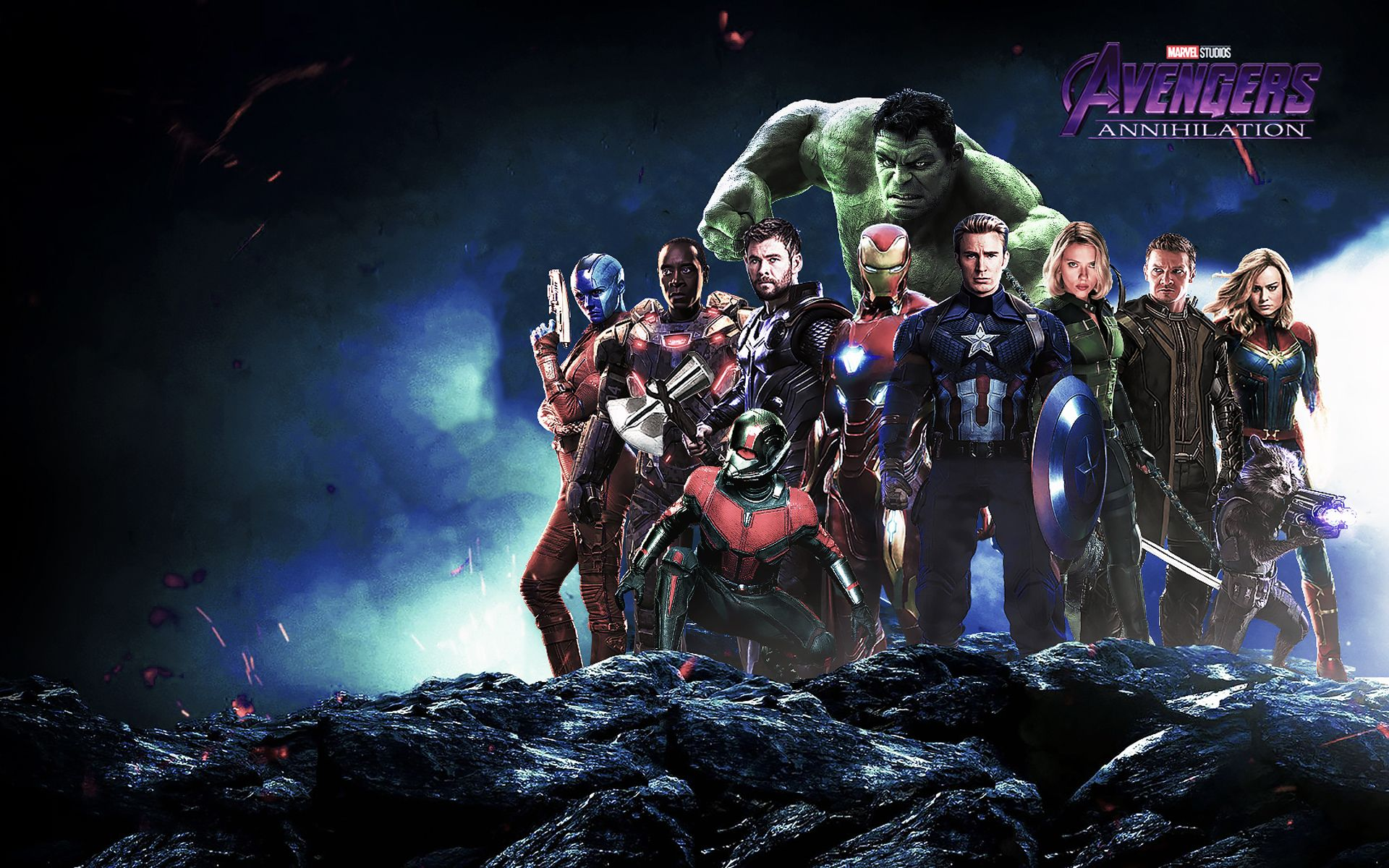 Wallpaper 4k Avengers Annihilation 2019 movies wallpapers