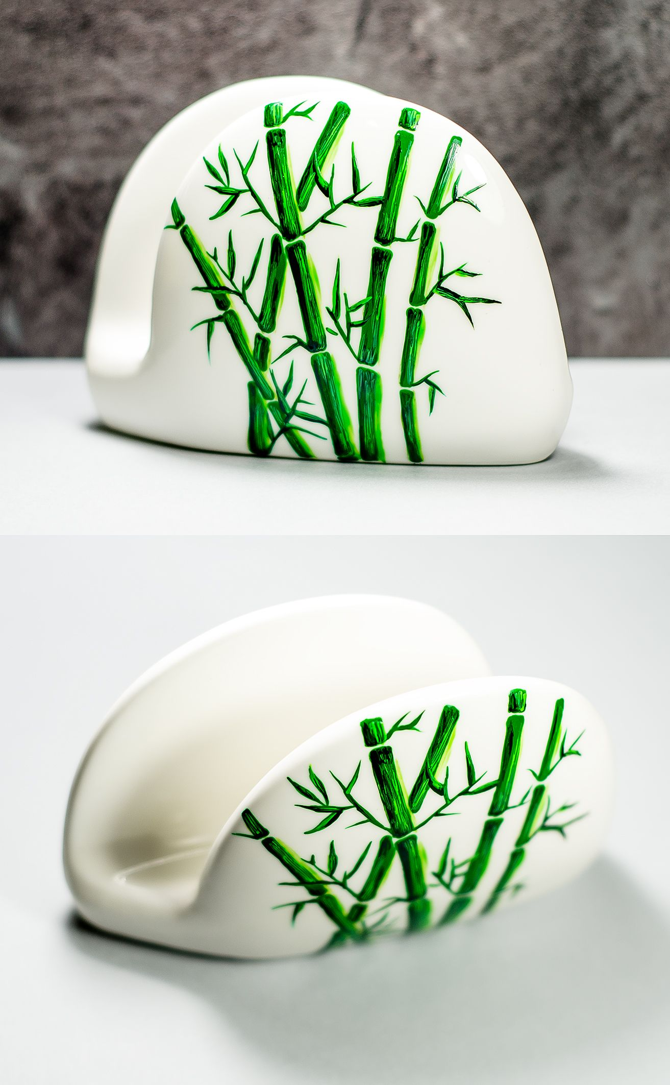 Ceramic napkin holder foodie gift ideas holiday hostess