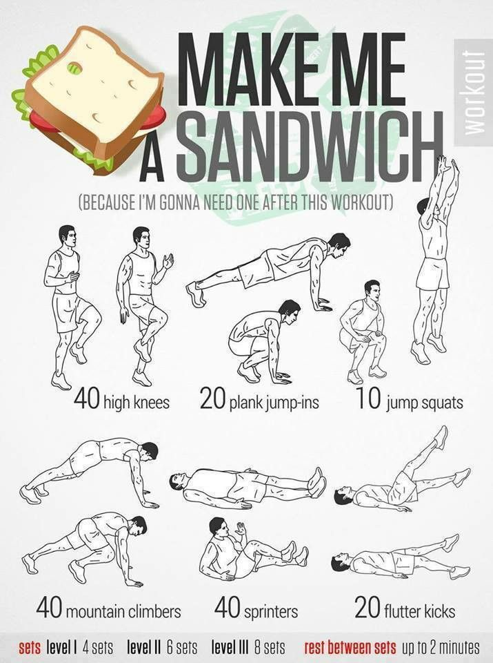 Sandwich exercise