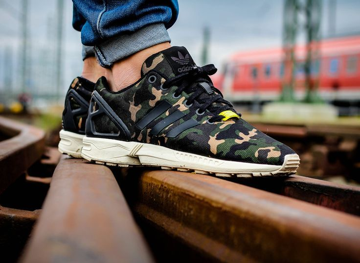 sneakers for cheap 90e5e 498eb Adidas ZX Flux Camouflage | Adidas Sneakers | Adidas zx ...
