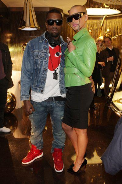 Kanye West Amber Rose Take On Paris