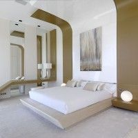 I like the curved ceilings...Dwelling in Pozuelo de Alarcón by A-cero Architects