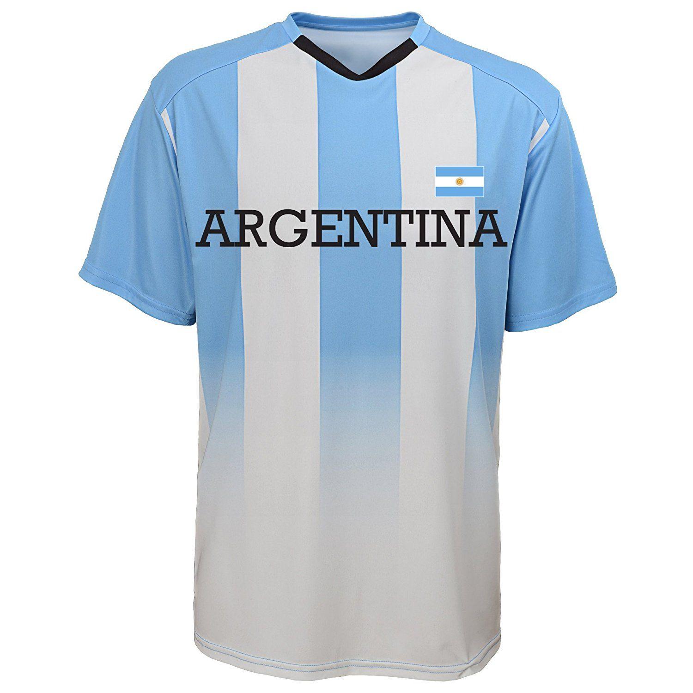 Amazon.com   International Soccer Jersey Top   Sports   Outdoors fifa 18 f6fe35265